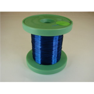 DC-Car enamel wire blue 100m