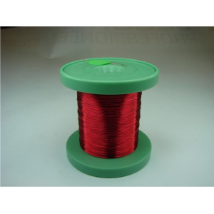 DC-Car enamel wire red 100m