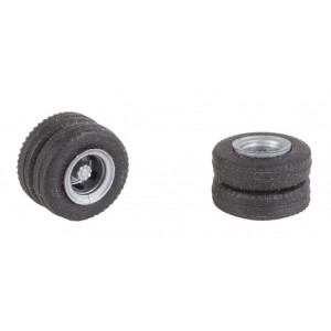 Wheel with tire FA163117