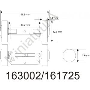 Front axle FA163002