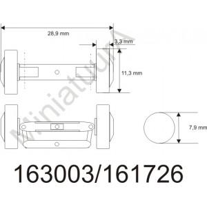 Front axle FA163003