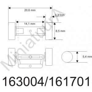 Front axle FA163004