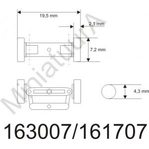 Front axle FA163007