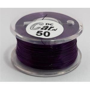 DC-CAR enamel wire violet 50m