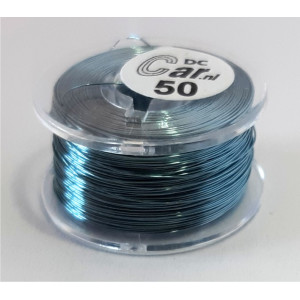 DC-Car enamel wire grey 50m