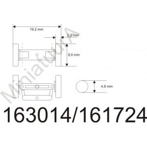 Front axle FA163014