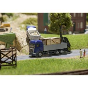 Scania R13 HL platform with...