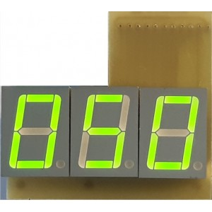 3 Digit display
