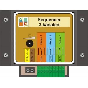 Sequencer 3 channal