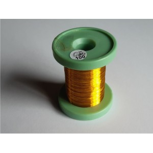 DC-Car enamel wire yellow 100m