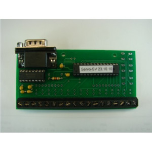 Input print for servo decoders