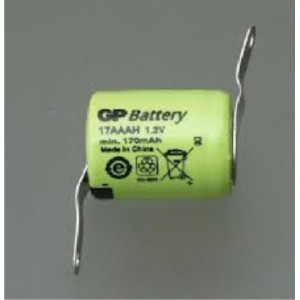 NiMH 1,2Volt/170 mAh with...