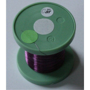 DC-CAR enmal wire violet 100m