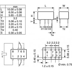 Micro relais 4,5V