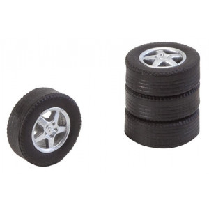 Wheel with tires FA163114