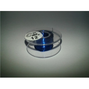 DC-Car enamel wire blue 12m