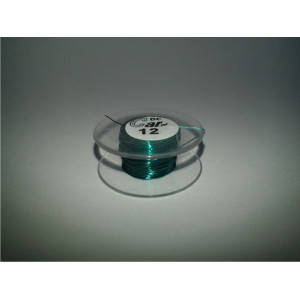 DC-Car enamel wire green 12m