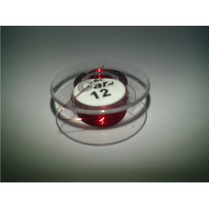DC-Car enamel wire red 12m