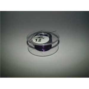 DC-Car enamel wire violet 12m