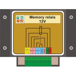 Memory relais 12 Volt