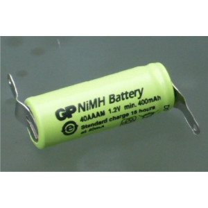 NiMH 1,2Volt/400mAh with...