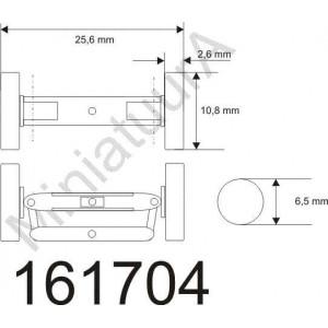 Front axle FA163011