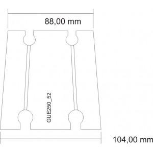 Transition 52 mm - 44 mm...
