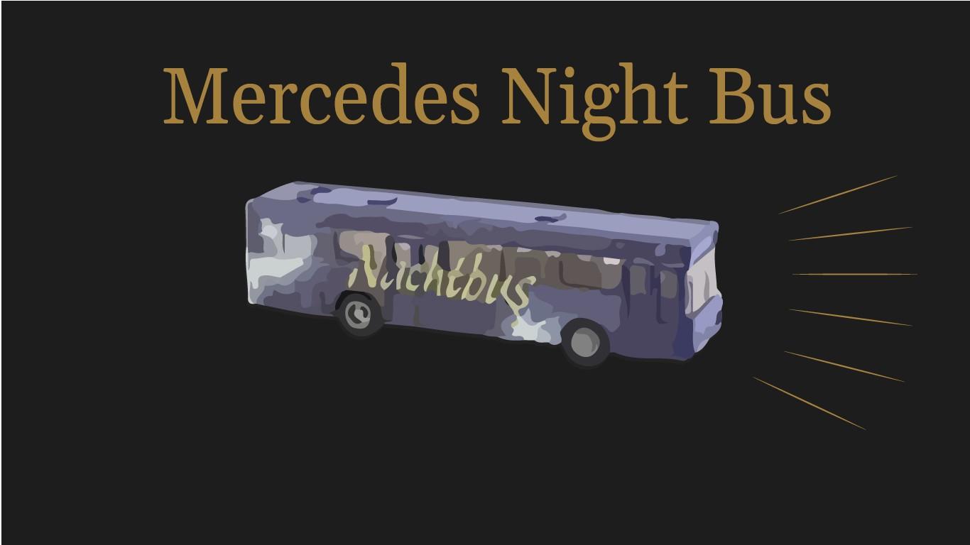 Mercedes Nachtbus